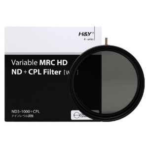 HD MRC VARIABLE ND3-1000 + CPL (77mm/82mm)